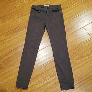 Madewell Gray Skinny Skinny Jeans 25